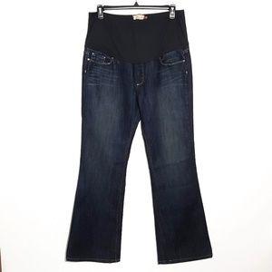 PAIGE | fallbrook maternity bootcut jeans sz 34